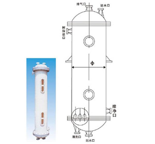 常熟聚丙烯离子交换柱