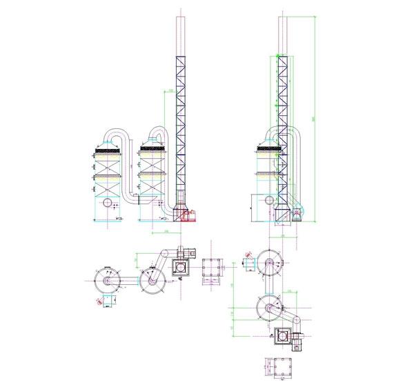 氯化氢吸收塔